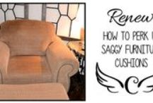 DIY Upholstering Furniture / Learn to refresh your comfortable seating!