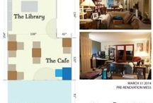 Ideas / Living Room Cafe / I'm going to convert my living room into a cafe-style workspace, with little tables and chairs, to someday support a coworking community. Plus I just think it's a neat idea.