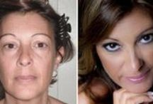 BEFORE / AFTER  DeeVa Beauty / The power of makeup!!