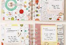 Book Binding & Mini Albums / Book binding tutorials and mini album inspiration