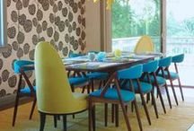 The Mid-Mod Home / mid-century modern home decor and architecture inspiration