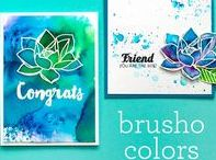 Brusho / Ideas and tutorials for Brusho other watercolour powders