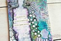 Art Journaling / Inspiring art journaling projects