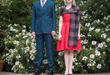 My Best Friends Wedding / Best Man, Maid of Honour, Tartan, Sashes, Suits, Weddings