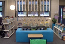 Classroom Libraries / A collection of some of the most beautiful classroom libraries, book displays, reading corners, and large group meeting areas on the internet!