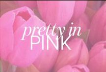 We LOVE Pink / Think Pink! Pink is my favorite color. All things pretty in pink!