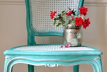 No Prep Chalk Painted Furniture /  I love chalk paint.  Whether it's home-made or brandname, chalk paint requires no prepping. NO sanding, stripping or priming of your furniture is required...how easy is that! Here are some fabulous examples of beautifully chalk painted furniture.    If you haven't tried chalk paint yet....I hope this board inspires you to give it a try!