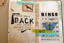 Smashbooks/Project Life/Art Journal/Midori/Fauxdori :) / by Pam Shea Shelton