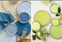 Popular Paint Colors 2016 / Here are some beautiful and Popular Paint Colors for 2016! You see these popular colors in fashion and home décor. These colors also look STUNNING on any painted piece of furniture! I love mulling over endless color choices with a cup of warm green tea!