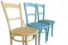 Fun Painted Chair Ideas  / I've painted a lot of chairs. It's exciting to take a boring hum-drum chair and turn it into something fabulous. Here are some Fun Painted Chair Ideas to get your creative juices flowing!
