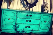 Montucci Designs / Hand painted furniture