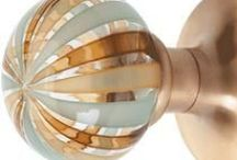 Furniture Hardware / Knobs / Hardware & Knobs can transform a not-so-great-piece of furniture into an eye catching show stopper! Here are some inspirational hardware and knob ideas to transform your furniture.