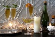 """Cocktail Parties: Celebrate 2015 Effervescently! / Ideas and inspiration for planning and hosting spectacular cocktail parties and celebrations all year long designed to knock your guests socks off! Included are food and cocktail recipes; decor ideas; theme inspiration; DIY projects; and resources. Who needs a """"bang"""" when you can start the New Year off with a """"pop"""" instead! *POP, FIZZ, CLINK*"""