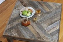 Pallet Furniture Ideas / This is re-using and up-cycling at its best! Here are some gorgeous pallet furniture ideas and tutorials. I haven't tried making anything out of pallets yet... but it's on my want-to-do list!!
