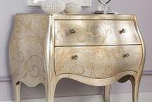 Metallic Paint Furniture