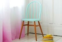 Color Dipped Furniture