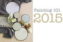 Popular Paint Colors 2015 / Here are some beautiful and Popular Paint Colors for 2015! I see these popular colors in magazines, fashion and home décor trends. These colors also look STUNNING on any painted piece of furniture! I love mulling over endless color choices with a cup of warm green tea!