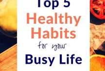 Wellness and Organization Tips / Lifestyle balance, stress relief strategies, and organization tips to keep you sane!