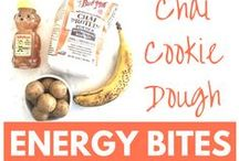 Energy Bites, Balls, and Bars / Little bites of protein packed deliciousness to fuel your workouts and your day!