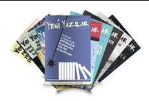 Yeni Yazılar / Siyasetten edebiyata, bilime, sinemaya, müziğe, popüler kültüre ve daha pek çok alana dair yazı, söyleşi ve tartışmalar... Toplumu ve yaşamı ilgilendiren her konu hakkında sözü olan bir gençliğin dergisi...