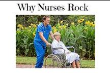 Why Nurses Rock / Why Nurses Rock is a testament to the great work nurses do. Amazing and selfless nurses are such incredible people. https://www.sunfrog.com/Jill/why-nurses-rock