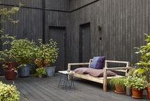 porch, patio, pool / by megan soh / petitely
