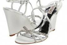 Wedge Bridal Shoes / Low heel Wedge Wedding Shoes Medium and High heel Wedge shoes