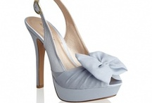 Blue Bridal Shoes / What's your something Blue for your wedding day?  Why not Blue Bridal shoes