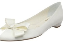 Something Bleu Bridal Shoes / Not only are the Something Bleu Bridal Shoes stylish, and a limited edition but they have a blue Swarovski Crystal in the sole.  No need to worry about your Something Blue
