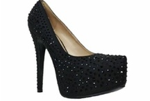 Black Evening Shoes / Evening and Bridesmaid  shoes in black.