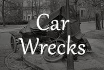 Car Wrecks / For some strange reason cars that get #totaled are fascinating. www.unhaggle.com