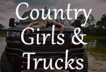 Country Girls & Trucks / Nothing is hotter than beautiful country girls and a big ol' truck #tipitback! www.unhaggle.com