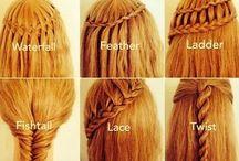 HAIR STYLES / Hair for girls / by Rebecca Wilson