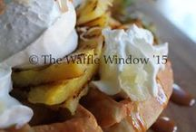 Waffles, Breakfast, Lunch & Supper! / Waffle-icious Creations from The Waffle Window in New Brunswick, Canada  Check out our FB Page, and Enjoy Our Inspiration
