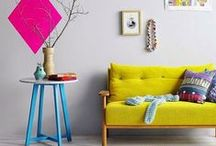 Trend: kleurrijk wonen / by Flinders Design