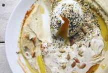 Food hummus & falafel