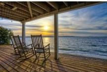 Coastal Living /  ~ Heaven's a little closer in A House by the Sea. ~  / by ~ Terri ~