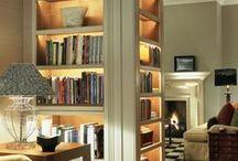 stylish storage & chic work space / closets, built-ins + desks