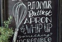 Chalkboard / by PickYourPlum