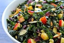 Scrumptious Salads & Dressings / Delicious salads and homemade salad dressings