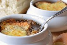 Just Soups & Stews / I developed a love of soups after my mother - thanks, mom!