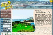 EnjoyAvilaBeach.com / Pictures of our website for the beautiful city of Avila Beach, California. You can find us at http://www.EnjoyAvilaBeach.com/