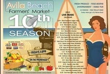 Avila Beach Farmers Market / The Avila Beach Fish & Farmers Market is a seasonal event that takes place on Fridays (4pm-8pm) from April - September every year. Find more information at http://www.FishandFarmersMarket.com