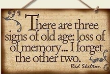Just Old - NOT! / ...not old, not mature, not precocious!