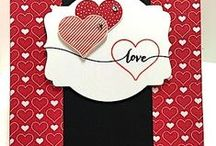 Valentines day Cards & Ideas / Cards or scrapbook pages or just ideas I like. / by Patricia Jones