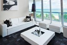 Canyon Ranch Model Homes / Saccaro was honored to be chosen for several different model apartments in the luxurious Canyon Ranch Residences in Miami Beach.