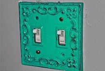 Metal light & Outlet covers / by AquaXpressions