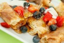 Breakfast / A great way to start your day! Fun breakfast foods for all the days of the week!