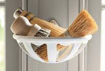 Sponge, broom, brushe, whisk or scrubber