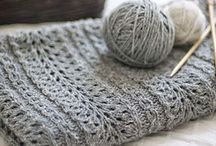 Knitting / Knitting ideas, styles and patterns.  Some crocheting had also found its way in here